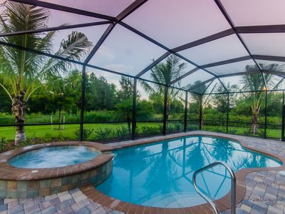 Photo for TREVISO BAY - RESORT! - LUXURY POOL/SPA GOLF HOME