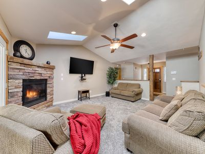 Photo for Inviting & peaceful dog-friendly home in the pines w/ a private hot tub!