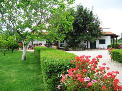 Photo for Pisticci: VILLA IRENE garden and private parking to 10 minutes from the sea - Unit A - ALL INCLUSIVE prices - FREE WiFi