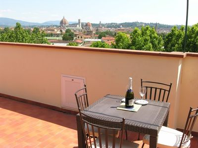 Photo for Apartment 743 m from the center of Florence with Internet, Air conditioning, Lift, Terrace (22177)