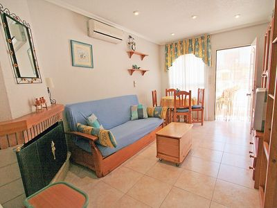 Photo for Apartment 342 m from the center of Santa Pola with Internet, Washing machine, Air conditioning, Pool (90807)