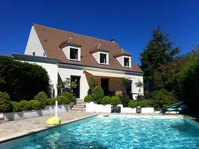 Photo for House garden pool near Paris and Versailles