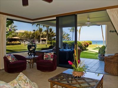 Photo for Ocean Front, Luxury, Ground Floor, Remodeled, Polo Beach #102