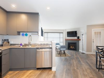 Photo for Whistler Village Olympic Plaza Suite with A/C, Fast WIFI and Free Parking