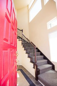 Entrance up stairs to condo