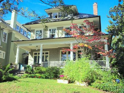 Photo for Spacious, Renovated Craftsman Style Home near National Cathedral and Zoo - NW DC