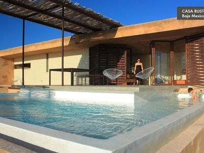 Modern Beach House with Pool Todos Santos HomeAway