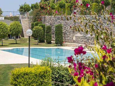 Photo for 2 BR House with Sea View & Shared Pool in Bodrum
