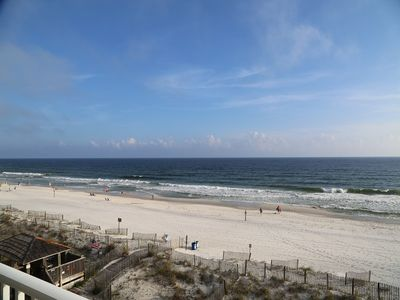 Photo for HOT DEAL 25% Off Jul 21-24 Sunchase 302 ~ Direct Gulf Front, right on the beach ~ FREE Wifi ~ Prime
