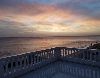 Amazing sunsets from the terrace