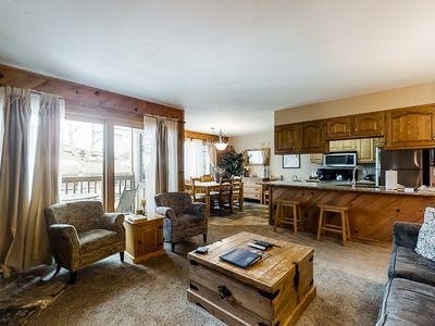 Photo for Great mountain condo across the street from gondola w/multiple resort amenities