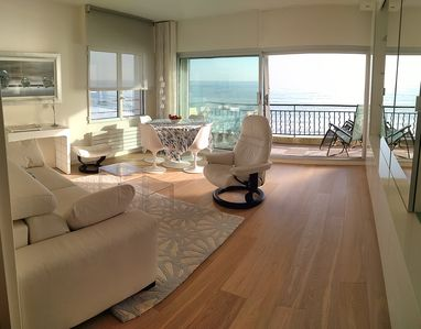 Photo for T2 luxury apartment of 55m², seafront