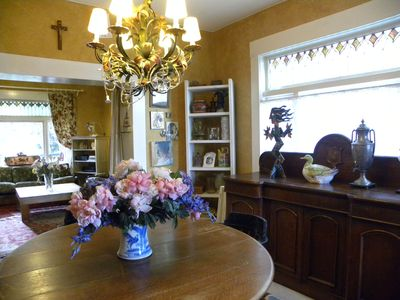 Enjoy your dinners in this large Dining Room
