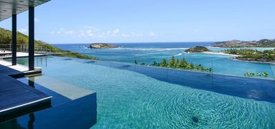 Villa Om  -  Ocean View - Located in  Stunning Mont Jean with Private Pool