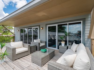 Photo for Ultra Modern Home with outdoor deck with downtown views