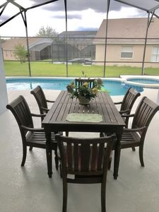 Photo for BEAUTIFUL HOME PRIVATE SOUTH FACING HEATED POOL/JACUZZI MINS TO DISNEY
