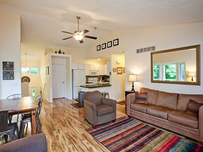Photo for Large Saugatuck Condo, Wooded Ravine, Cathedral Ceilings, 2 night stays!!