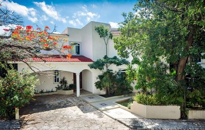Photo for Casa Foto - Fabulous and across the street from the Ocean in Playacar Fase 1!
