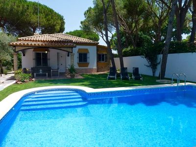 Photo for Villa in Chiclana de la Frontera, Andalusia, Spain  with private pool for 6 persons