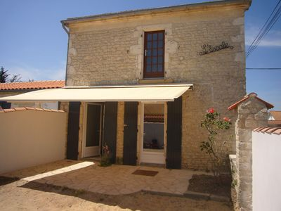 Photo for house totally renovated in 2017 in La Menounière 400 m from the beach