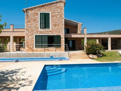Photo for 5 bedroom Villa, sleeps 10 in s'Alqueria Blanca with Pool, Air Con and WiFi