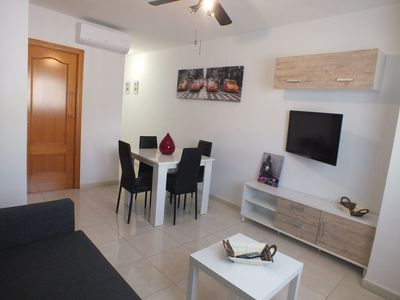 Photo for BEAUTIFUL APARTMENT of 50m² at 200m FROM THE BEACH - SKY TV - WIFI