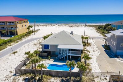 Location Location! Steps from the water with unobstructed views!