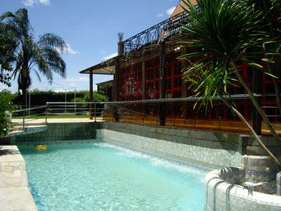 Photo for VILLA V - Antananarivo, pool with rain-curtain, bar, garden-restaurant terraces