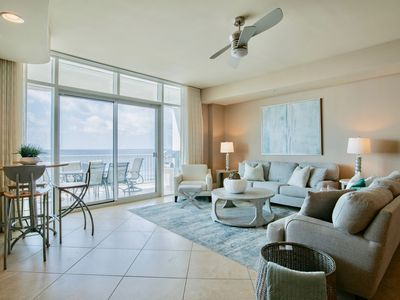 Photo for New Rental! Gorgeous, redecorated, beach front 3/3.5 at Turquoise Place!!
