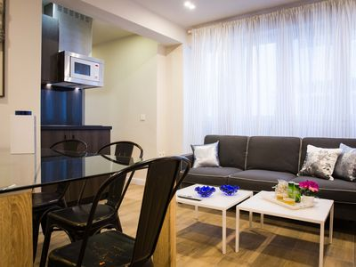 Photo for Modern and spacious 3 bedroom apartment for 7 people in the center of Málaga