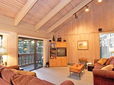 Photo for Spacious 4 Bedroom 2 Bath Condo with Wooded Views