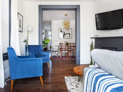 Photo for Vintage Townhome with Two Private Suites - Perfect for Couples