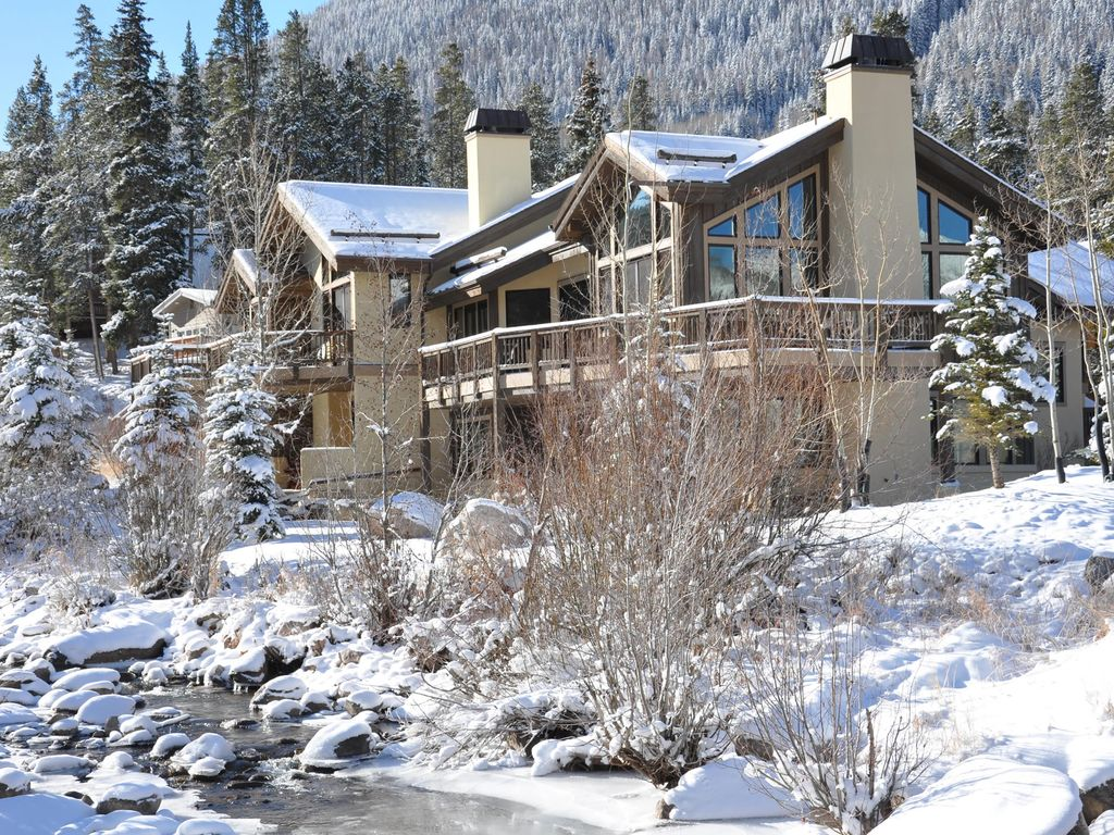 Luxury 4 bedroom home in east vail 5166 bla homeaway for Cabin rentals near vail colorado