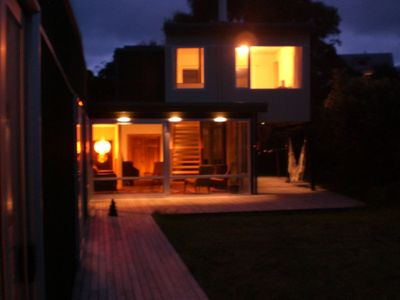 Photo for Spacious! Modern! Funky! Relax in retro style. Walk to beach, cafes, shops...