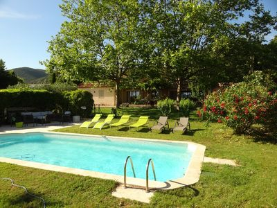 Photo for 4BR Mas Vacation Rental in Lauris, Provence-Alpes-Côte-D'Azur