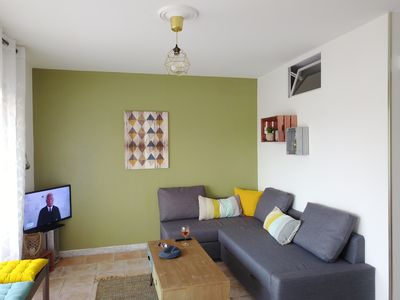 Photo for Juan les pins: Apartment 2p internet and parking at 300m beaches and shops