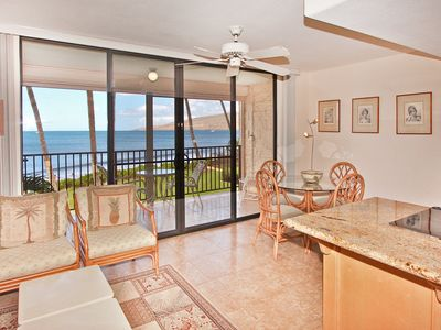 Photo for KBR #204 - 1 Bedroom/2 Bath Ocean Front unit on Sugar Beach!