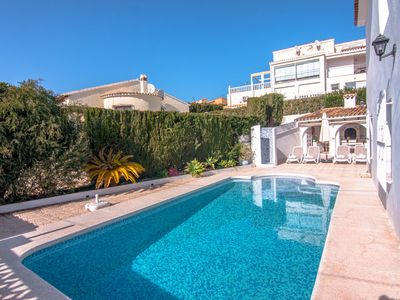 Photo for BELVIC, beautiful and comfortable villa in Calpe with private pool. free wifi