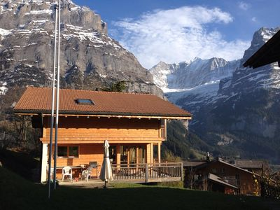 Photo for Detached chalet, 7 pers., With panoramic views of the famous Eiger North Face