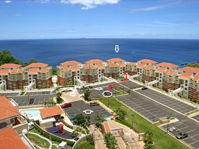 Photo for Luxurious, Oceanview condo, overlooking Crashboat Beach