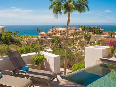 Photo for Villa Del Sol - 5BR Villa with Ocean Views in Great Pedregal Location in Cabo