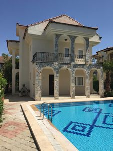 Photo for Beautiful 4 bedroom family villa -  Shared pool, secure garden and free wifi