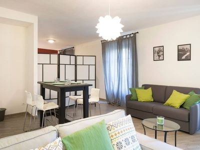 Photo for Secret Garden apartment in Pisa with WiFi & air conditioning.