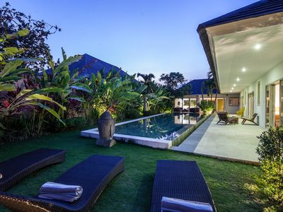 Photo for Charming 3 bedroom villa in Canggu