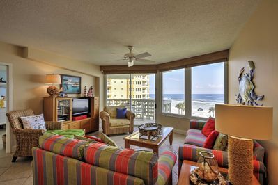 You'll have over 1,150 square feet of space to relax after a day on the beach.