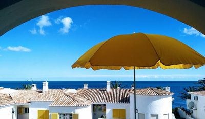 Photo for Lovely 2 Bedroom Apartment with sea view, Praia da Luz, 2 min walking from beach