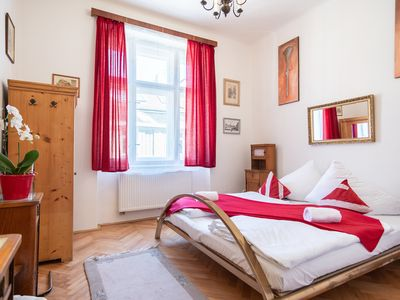 Photo for High-ceilinged flat with 2 bedrooms for 8 guests in quiet area by easyBNB