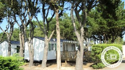 Photo for Camping L'Océan ***** - Maeva Camping - Mobile Home Emotion 4 Rooms 6 People