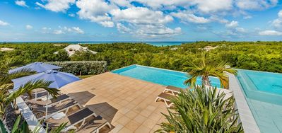 Villa Grand Bleu -  Ocean View - Located in  Stunning Terres Basses with Private Pool