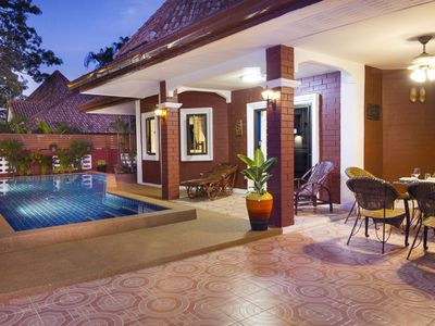 Photo for Villa Sabai with private pool, only 5 minutes away Pattaya / Walkingstreet